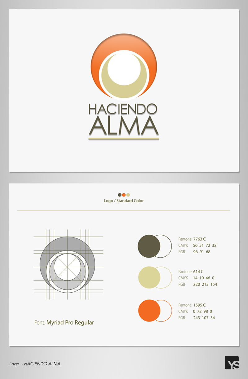 HACIENDO ALMA – Logo & Business Cards | Yuri Solano